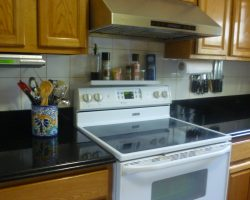 Cambrian Black Granite Countertops