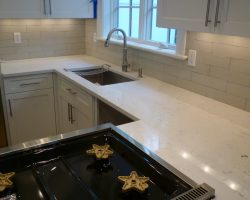 Cashmere Carrara Quartz Countertops