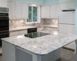 Delicatus White Granite - Full Kitchen Update